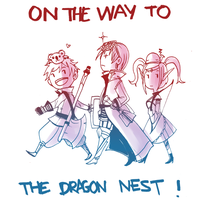 On The Way To The Dragon Nest by Meishali