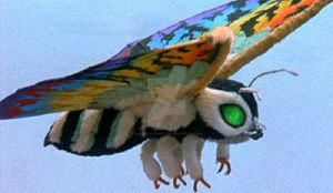 rainbow mothra in rebirth of mothra II by odettexsasuked1234