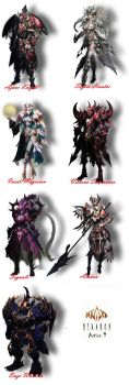 Dekaron - action 9 armor sets by Vampirel28