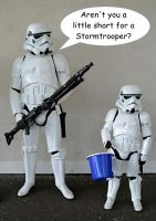 Aren't you a little short for a Stormtrooper ? by masimage