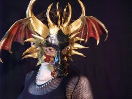 Dragon Mask with Wings by Jedi-With-Wings