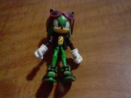 Scourge the Hedgehog Figure by mariomaster88