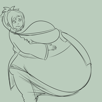 Prize: Avatar Belly by Metalforever