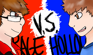 Rage Vs Hollow by EndlessCartoon