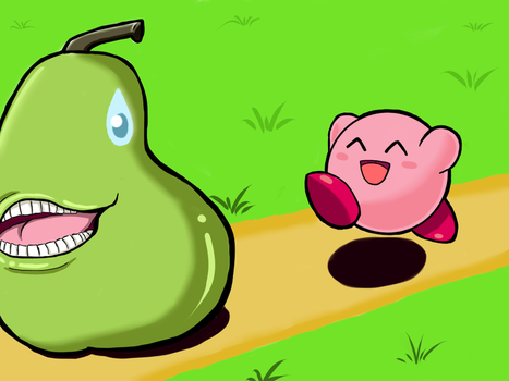 Kirby and the Biting Pear of Salamanca (LOL WUT) by iDetectiv