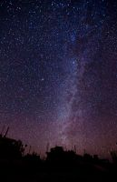 Stars in Afghanistan by swiftmoonphoto