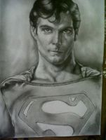 Christopher Reeves as Superman by smithling
