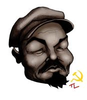 Lenin Cartoon by tree27