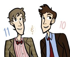 Doctors 11 and 10 by MusicalFire