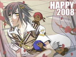 KKMM: Happy 2008 by tofumi