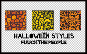 HALLOWEEN STYLES by fuuckthepeople