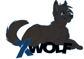 Xwolf badge by Mishamutt