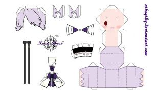 Xerxes Break papercraft by niksqiky