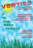 T in the park tribute flyer by rhizai
