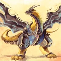 Raptordramon by Garmmon