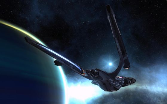 USS Telemachus by Nihilus-Shadow
