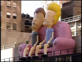 Beavis and butthead ballon by Makinita