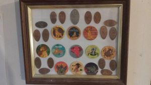 TLK Collection- Pogs and Pressed Pennies Framed by KaJess