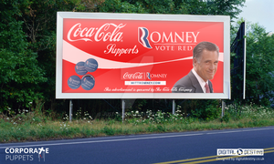 Corporate Puppets -  Romney by Just-Wordz