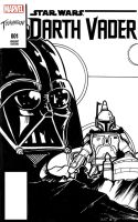 Vader Front Sketch cover by stourangeau