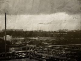 Moscow industrial 2003 by firework