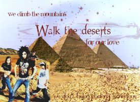 We Walk the Deserts by cease-this-fear