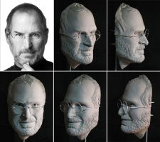 Steve Jobs Overview by Clayed