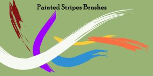 Painted Stripes Brushes by SuicideOmen