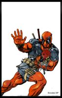 Deadpool A merc with a mouth by Balla-Bdog