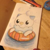 Oshawott by shadamylover1236