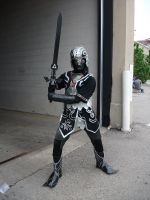 AN11 Dark Link Zora Armor by fallingsorrow