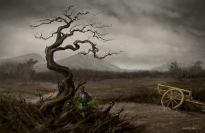 Western Wastes - L5R by AaronMiller