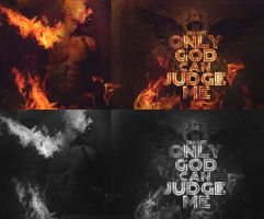 Only God Can Judge Me - Tupac Tagwall by GreenMotion