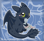 little Toothless by Isi-Daddy