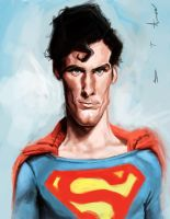 Christopher Reeve - Superman by DevonneAmos