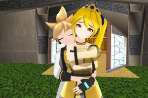 MMD - Project Diva Princess Akita Model Download by JJ-Panda-Chan