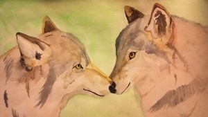 Wolves by thelittlew0lf