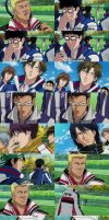 New Prince of Tennis = Four Eyes by momodere