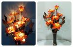 Artificial Light Bouquet (Coral). by smallparadise