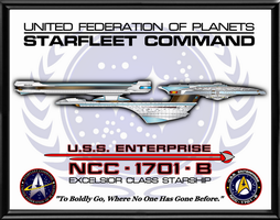Enterprise B Poster by viperaviator