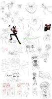 aku doodle dump ft. puffs and punks by teacupballerina