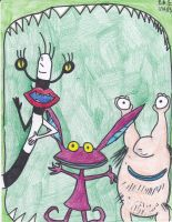 Aaahh! Real Monsters by Millie-the-Cat7