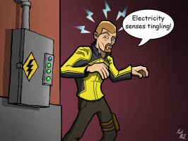 inFAMOUS: Electricity Senses by Nick-McD