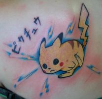 Pickachu by Dripe