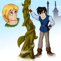 Jacklyn and the Beanstalk by LisaGreywood