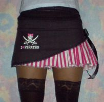 I ::heart:: Piratey stripes by funkyfunnybone