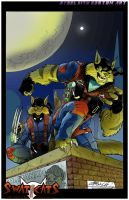 Swat Kats colored by steelcitycustomart