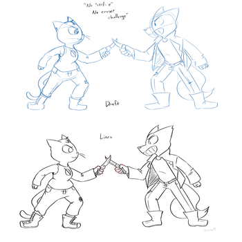 Knife Fight- Practice by thesuckerpunched