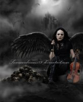 ..:Evil in her Music:.. by SummerDreams-Art