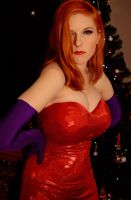 Happy Holidays : Jessica Rabbit by Lossien